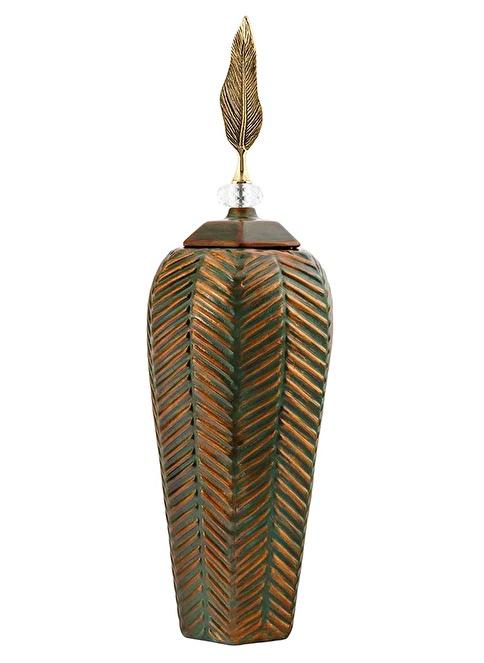 Vitale Seramik Vazo Büyük Boy Renkli